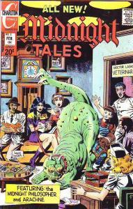 Midnight Tales #2 (Feb-73) VF/NM High-Grade The Midnight Philosopher, Arachne