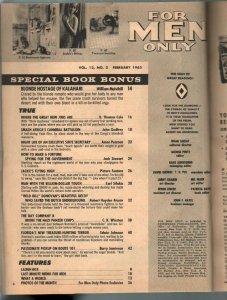 For Men Only 2/1965-Atlas-Nazi horror-Mort Kunstler-Bruce Minney-Earl Norem-VG