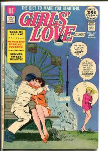 GIRLS' LOVE STORIES #161 1971-DC COMIC-FERRIS WHEEL CVR FN