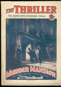 THRILLER #179-BRITISH DIME NOVEL-JULY 9 1932 FR/G