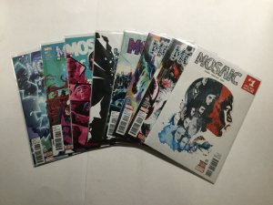 Mosaic 1-8 1 2 3 4 5 6 7 8 Lot Run Set 2016 Near Mint Nm Marvel