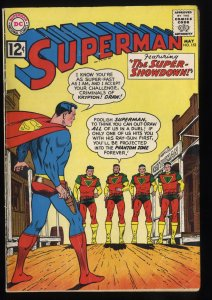 Superman #153 VG 4.0