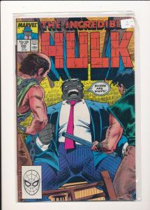 MARVEL COMICS The INCREDIBLE HULK #356 F/VF (SIC372)