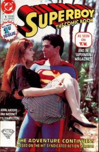 Superboy (1990 series) #1, VF (Stock photo)