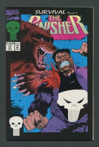 Punisher #77  / 9.2 NM- - 9.4 NM  April 1993