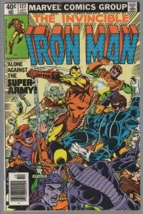 IRON MAN 127  VG-F  ALCOHOL crisis Oct. 1979