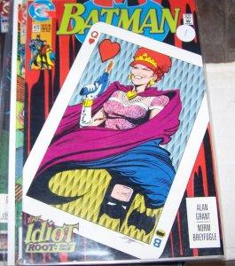 Batman #472  1991, DC comics  the idiot robin tim drake bruce wayne