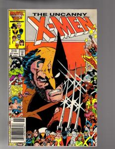 X MEN 211 (11/86)  FINE  Mutant Massacre