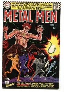 Metal Men #19 comic book 1966- DC Silver Age- Man Horse of Hades