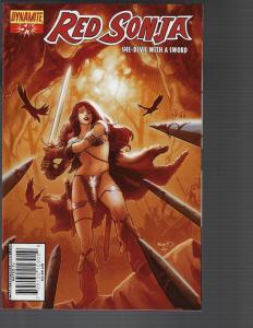 Red Sonja #54 (Dynamite) -  Paul Renaud Cover