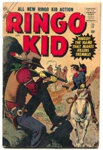 Ringo Kid #17 1957- Atlas Western- Maneely cover VG