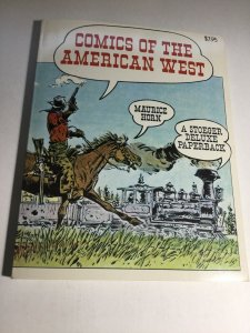 Comics Of The American West Vf Very Fine 8.0 1977 Winchester Press