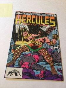 Hercules Prince Of Power 1 Nm Near Mint Marvel Comics