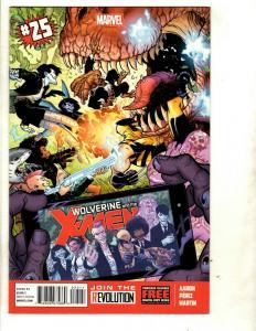 10 Wolverine and the X-Men Marvel Comics # 25 26 27 28 29 30 31 32 33 34 CJ15