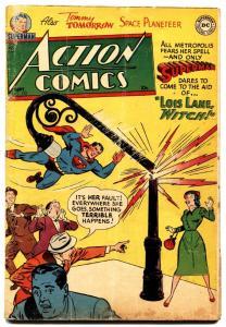 Action #172 1952-DC-Superman--Congo Bill-vigilante-comic book