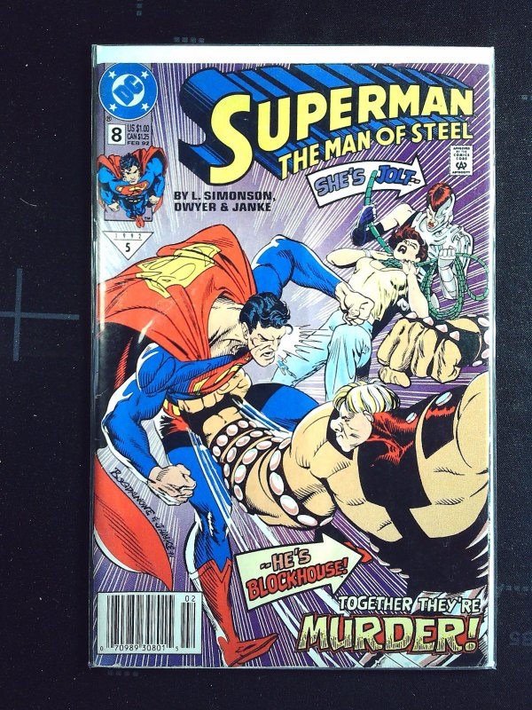 Superman: The Man of Steel #8 (1992)