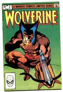 Wolverine Limited Series #4 Marvel comic book 1982 VF/NM