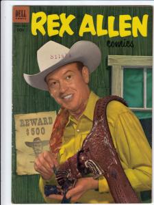 Rex Allen #8 (May-53) VF/NM- High-Grade Rex Allen, Koko