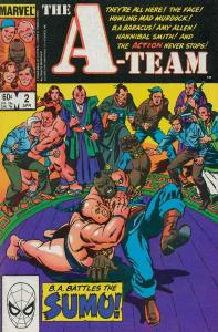 A-Team, The #2 VG; Marvel | low grade comic - save on shipping - details inside