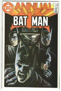 BATMAN Annual #9 - The Four Faces of Batman - Jerry Ordway Art - 1985 NM 9.4