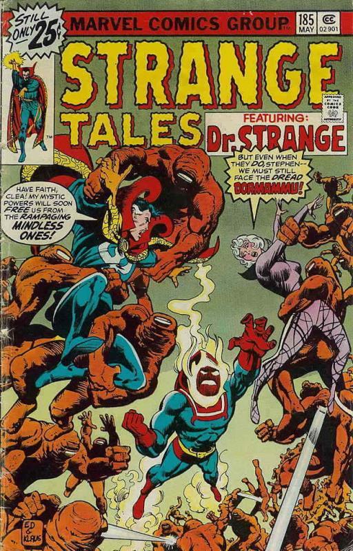 6f0c0ae1b1 Strange Tales (1st Series) #185 VF; Marvel | save on shipping ...