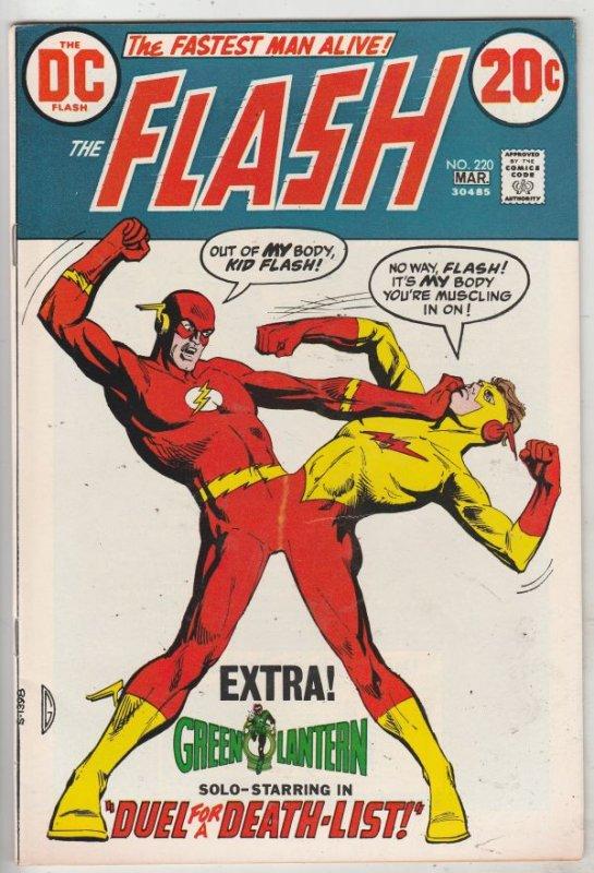 Flash, The #220 (Mar-73) VF/NM High-Grade Flash