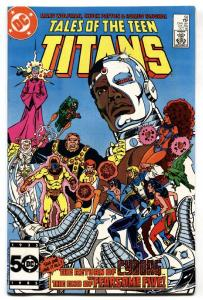 Tales Of The Teen Titans #58 First mention of the MONITOR. DC