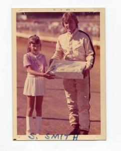 Steve Smith-Portrait Photo-Williams Grove Speedway-1972-VG