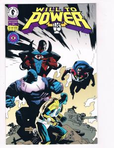 Will To Power #10 NM Dark Horse Comics Comic Book 1994 DE28