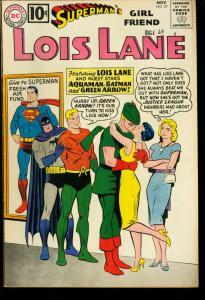 SUPERMAN'S GIRL FRIEND LOIS LANE #29-BATMAN-SUPERMAN VF