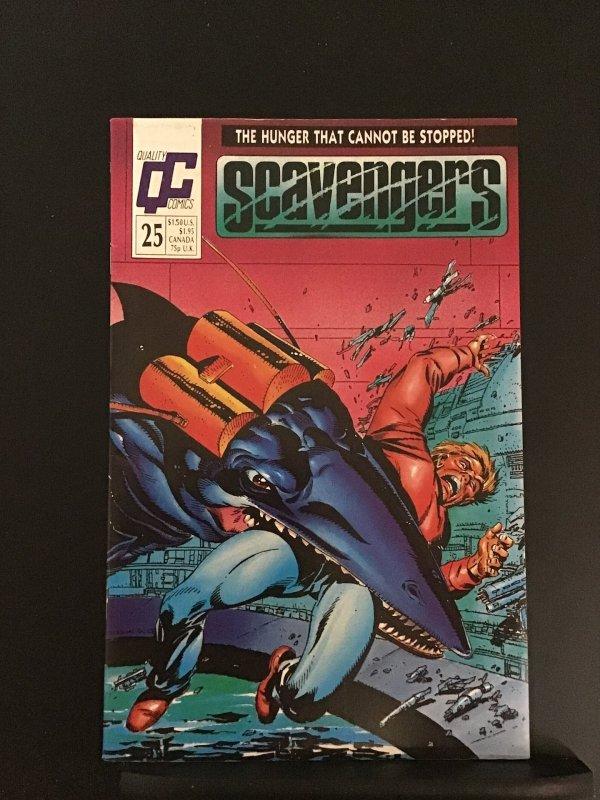 Scavengers (GB) #25 (1988)