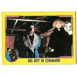 1990 Topps DICK TRACY-BIG BOY IN COMMAND #29