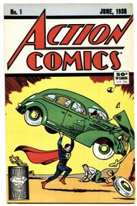 ACTION #1 1988 comic book -1st SUPERMAN REPRINT