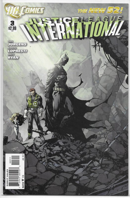 Justice League International   vol. 3   #  3 NM (New 52)
