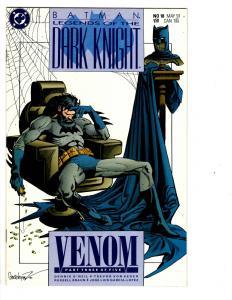 10 Batman Legends of the Dark Knight DC Comics # 6 8 12 13 14 15 16 17 18 19 WM2