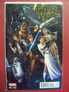 STAR WARS #001  J. SCOTT CAMPBELL 1:50 VARIANT COVER NM 9.4 MARVEL 2015 SERIES