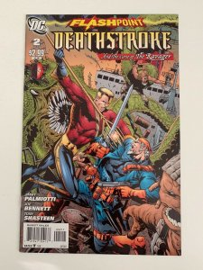 Flashpoint Deathstroke and the Curse of the Ravager #2 2011 NM