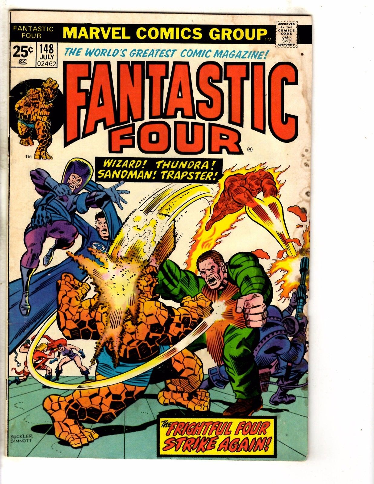 #149 Fn Marvel vol. 1 Fantastic Four