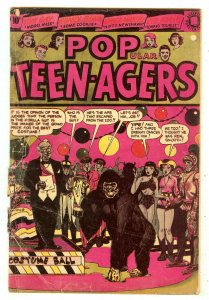 Popular Teen-Agers 6   Honey Bunn begins   L.B. Cole cover