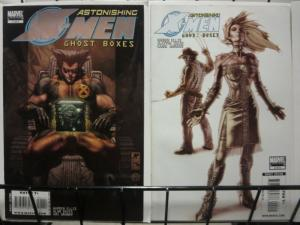 X MEN (ASTONISHING) GHOST BOXES (2008) 1-2 Warren Ellis