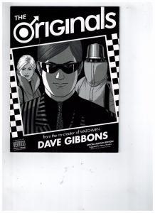 The Originals Special Ashcan Edition Dave Gibbons DC Vertigo Watchmen Prev. S79