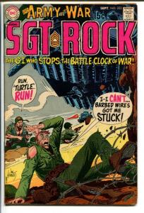 OUR ARMY AT WAR #223-SGT. ROCK-COOL ISSUE FN