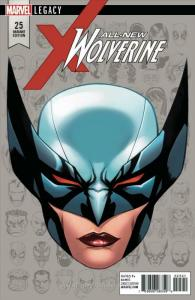 All-New Wolverine #25B VF/NM; Marvel   save on shipping - details inside