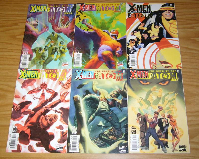 X-Men: Children of the Atom #1-6 VF/NM complete series - joe casey - steve rude