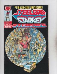 Epic Comics! Steelgrip Starkey Issue 1!