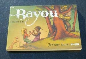 Bayou Volume One #1 TPB Graphic Novel VF/NM Jeremy Love Zuda Comics