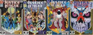 JUSTICE LEAGUE (1987) 72-75  Destiny's Hand