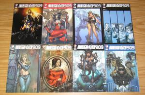 Mega City 909 #1-8 VF/NM complete series - all A variants - ddp - andrew dabb