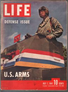 Life 7/4/1941-defense issue-pre WWII-Dorothy Lamour-military pix & info-VG+