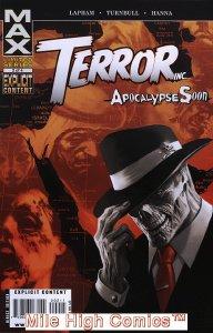 TERROR, INC: APOCALYPSE SOON (2009 Series) #2 Fair Comics Book